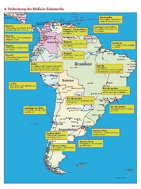 In Südamerika beginnt der sogenannte Kokain-Zyklus.