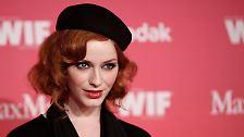 """Mad Men""-Star Christina Hendricks: Feministin mit Tüten-BH"