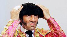 Das ist Juan Jose Padilla, berühmter Stierkämpfer und einer von 36 Millionen Wählern.