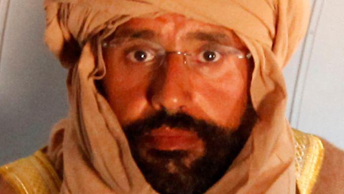 Libyen will Gaddafi-Sohn den Prozess machen: Saif al-Islam festgenommen