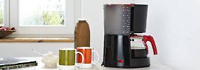 In der Glaskanne sollte Kaffee nicht länger als 30 Minuten bleiben.