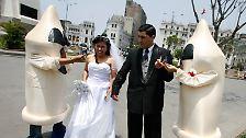 Im Wasser, in der Luft, kopfüber ...: Außergewöhnliche Hochzeiten