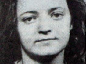 Beate Zschäpe auf einem Fahndungsbild von 1998.