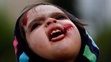 Blut, Schreie und Grimassen: Horror-Horden wollen den Rekord