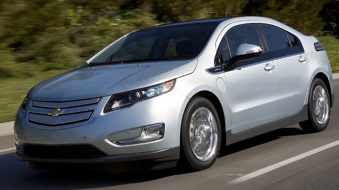 Mit dem Volt will Chevrolet an alte Erfolge anknüpfen.