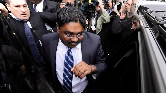 Raj Rajaratnam verdiente Millionen mit Insiderhandel.