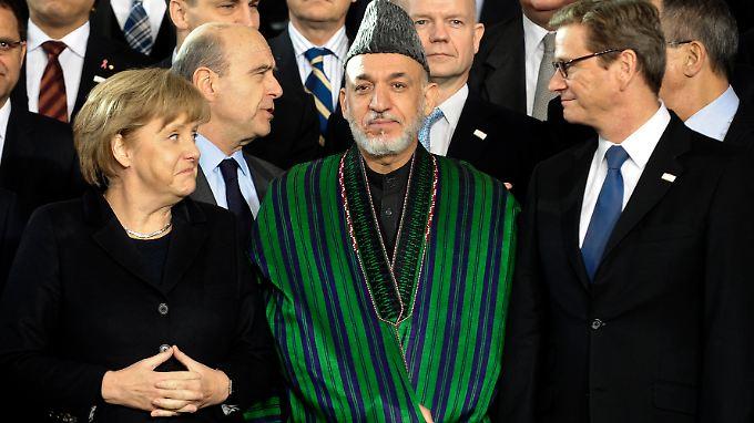 Konferenz zur Zukunft Afghanistans: Staatengemeinschaft verspricht Hilfe