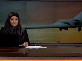 Das iranische Fernsehen berichtet ausführlich über den Vorgang.