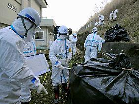 Die Dekontaminierung Japans wird Jahrzehnte dauern.