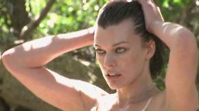 Pirelli-Kalender 2012: Milla Jovovich zieht sich aus