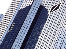 Das Gebäude der Bank in Frankfurt am Main.