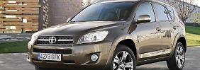 Exemplar von 2009: Das Baujahr ist beim aktuellen Toyota RAV4 hinsichtlich der Pannenanfälligkeit fast irrelevant.