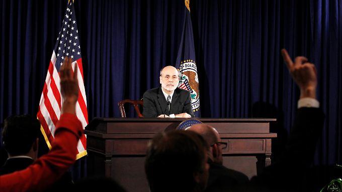 Ben Bernanke: Beunruhigt ja, hilfsbereit nein.