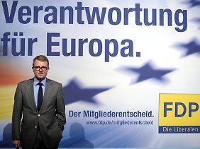 Frank Schäffler gehört zu den Initiatoren der Abstimmung.