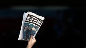 Extrablatt in Tokio: Kim Jong Il ist tot.