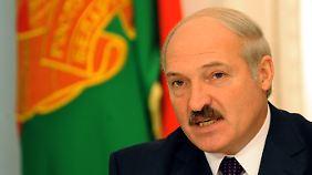 """Weißrusslands Präsident Lukaschenko gilt als """"letzter Diktator"""" Europas."""