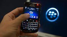 RIM verliert mit dem Blackberry Marktanteile.