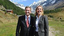 Das Ehepaar Wulff im September 2010 auf Staatsbesuch in der Schweiz.