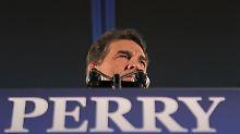 Absturz in Iowa: Rick Perry steht vor dem Aus nach einem desaströsen Abend.