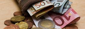 Wertvolles Kundengeld: Die Banken locken Anleger mit guten Sparkonditionen.