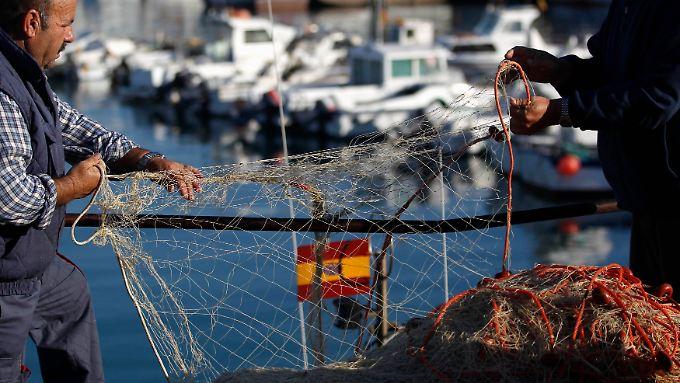 Guter Fang in Spanien.
