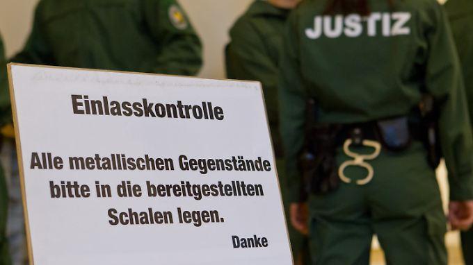 Einlasskontrollen sind an bayerischen Amtsgerichten bislang die Ausnahme.