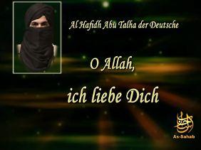 """""""Gilt als Schwätzer"""": Der Bonner Islamist Bekkay Harrach in einer seiner Botschaften."""