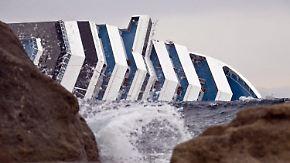 """Havarie der """"Costa Concordia"""": Enorme Kosten für Kreuzfahrt-Riesen"""