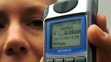So sahen reine Sony-Handys früher aus.