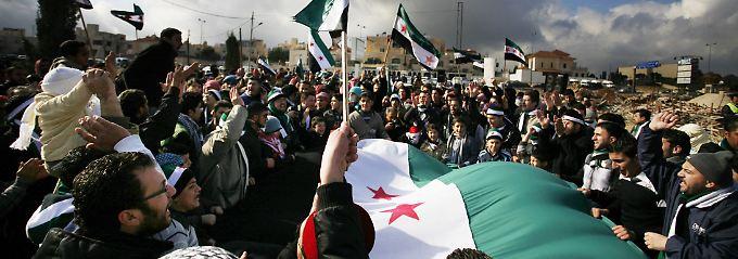 Die Anti-Assad-Proteste reißen nicht ab.