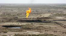 Ein Teil des Azadegan Ölfeldes im Iran: Die EU-Staaten haben sich nach langem Ringen zu einem Ölembargo gegen das Land durchgerungen