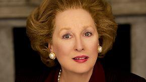 """Kinotipp: """"Die Eiserne Lady"""": Streep beeindruckt als Thatcher"""