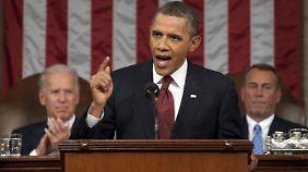 Rede zur Lage der Nation: Obama will gerechteres Amerika