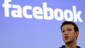 Soziales Netzwerk stapelt tief: Facebook will Börsengang beantragen