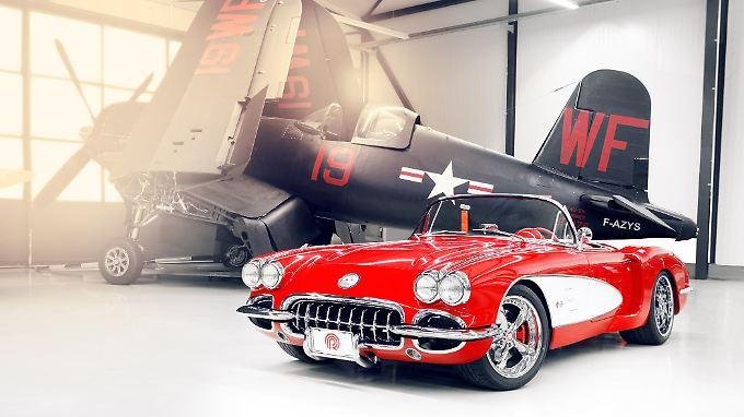 Die getunte Corvette kostet nach der Technikkur der Edelschrauber 225.000 Euro.