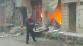 Nach dem Veto gegen UN-Resolution: Gewalt in Syrien geht weiter