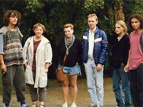 Der Friedenskreis Weißensee mit Evelyn Zupke (2.v.l.).