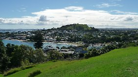 Aussichtspunkt Mount Victoria: Der 81 Meter hohe Hügel ist ein weiterer inaktiver Vulkan in Devonport.