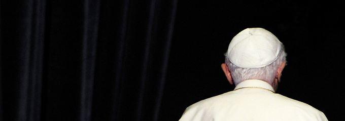 """""""Wir sind Papst"""": Benedikt XVI. ist seit sieben Jahren im Amt."""