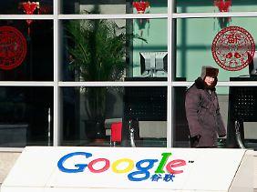 China nie komplett verlassen: Die Google-Niederlassung in Peking.