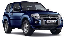 """Die wohl bekannteste Namensirrung ist der """"Pajero"""" von Mitsubishi."""