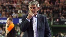 """Ich glaube, dass mit der deutschen Nationalmannschaft noch so Einiges zu erreichen ist"""": Svetislav Pesic."""