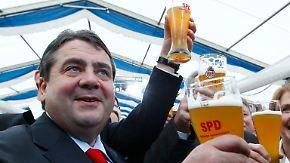 Vorgeschmack auf Wahlkampf 2013: Gabriel begeistert SPD in Bayern