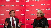 Gesine Lötzsch und Klaus Ernst bekommen die schnelle Regelung der Kandidatenfrage nicht hin.