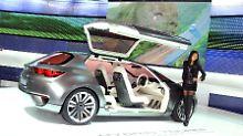 Flügeltüren als Symbol von Freiheit: Subaru zeigt einen außergewöhnlichen GT.