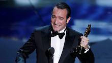 Jean Dujardin ist der erste Franzose, der den Oscar für den besten Hauptdarsteller erhält.
