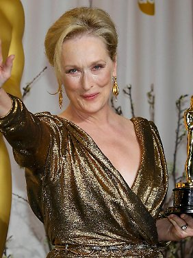 And the Oscar goes to: Meryl Streep!
