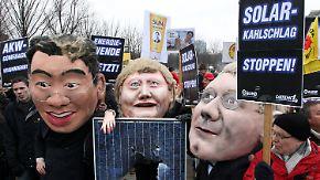 Kabinett beschließt Reform: Solarbranche protestiert gegen Kürzung