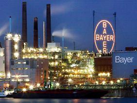 Bei Deutschlands Branchenprimus Bayer laufen bis 2012 keine großen Patente aus.