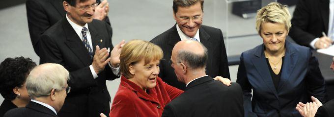 Gratulation für den alten und neuen Bundestagspräsidenten.